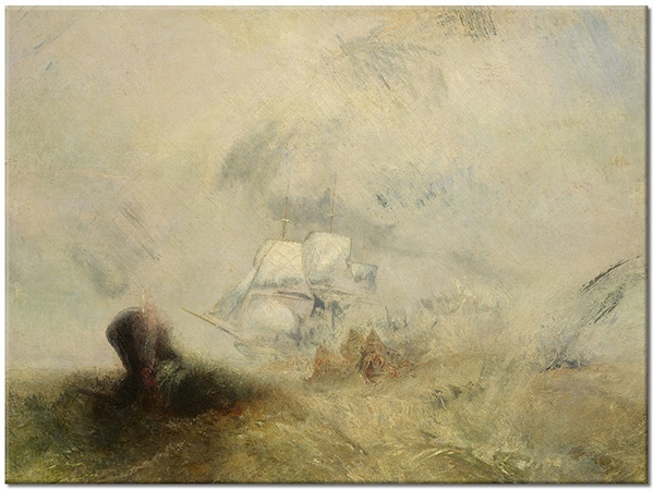 Tablou canvas: Baleniere, William Turner, tablou imprimat