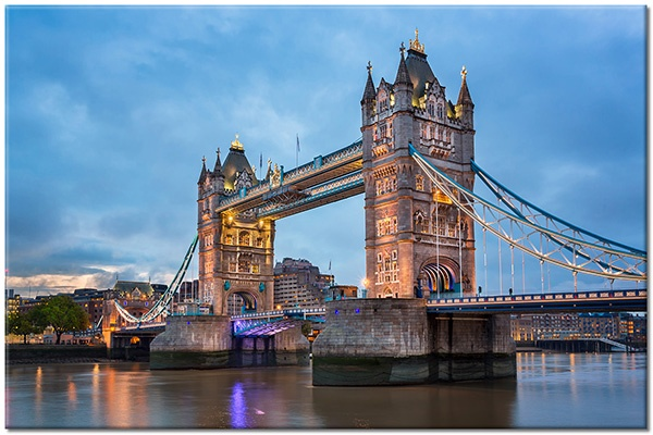 Tablou canvas: Tower Bridge Londra UK